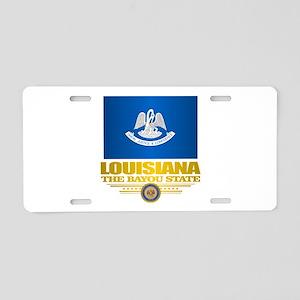 Louisiana Pride Aluminum License Plate