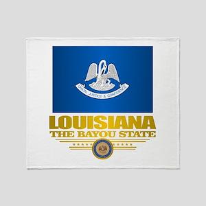 Louisiana Pride Throw Blanket