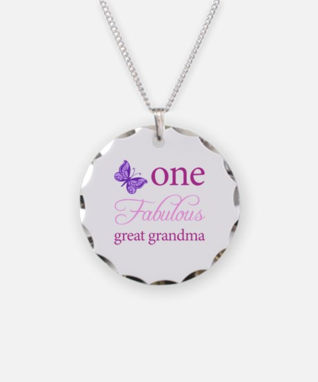One Fabulous Great Grandma Necklace