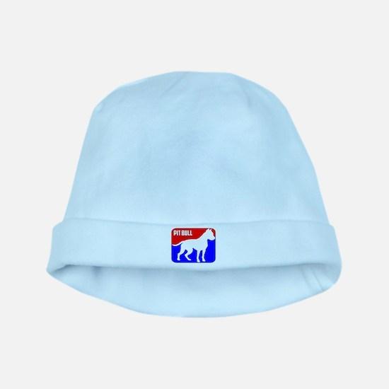 Major League Pit Bull Dog baby hat
