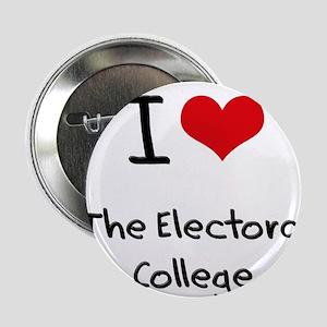 """I love The Electoral College 2.25"""" Button"""