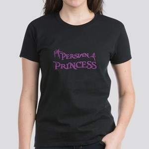 Persian Princess Women's Black T-Shirt