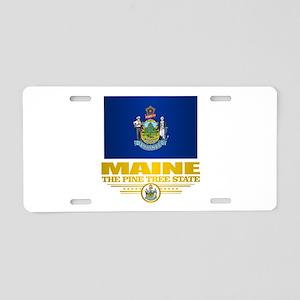 Maine Pride Aluminum License Plate