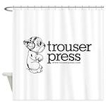 10x10_TrouserPress.... Shower Curtain