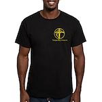 TBF Men's Fitted T-Shirt (dark)