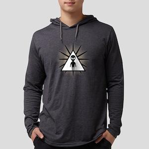 Alien Encounter Mens Hooded Shirt