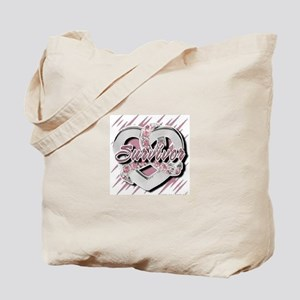 Survivor in Heart Tote Bag