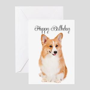 Corgi Birthday Card