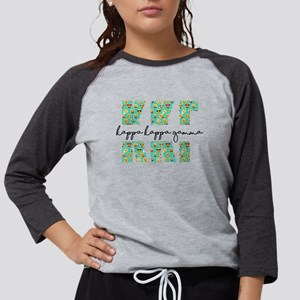 Kappa Kappa Gamma Letters Emoj Womens Baseball Tee