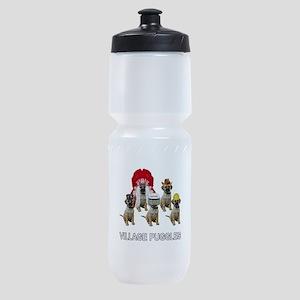 Village Puggles Sports Bottle