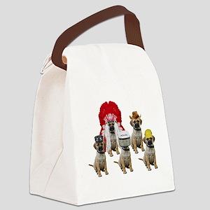 Village Puggles Canvas Lunch Bag