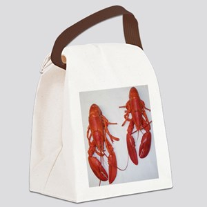 Twin Lobsters Merchandise Canvas Lunch Bag