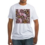 Leopards and Lace - Pink T-Shirt