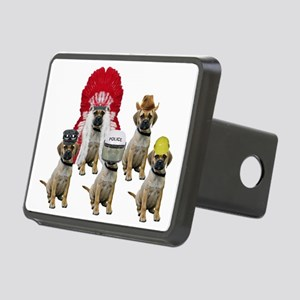 Village Puggles Rectangular Hitch Cover