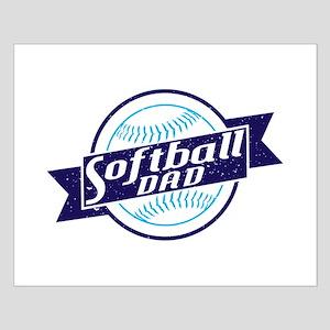 Softball Dad Posters