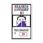 Readers Advisory 35x21 Wall Decal