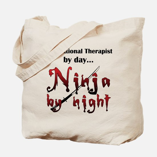 Occupational Therapist Ninja Tote Bag