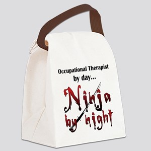 Occupational Therapist Ninja Canvas Lunch Bag