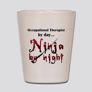 Occupational Therapist Ninja Shot Glass