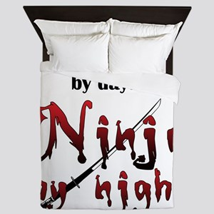 Occupational Therapist Ninja Queen Duvet
