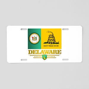 Delaware Gadsden Flag Aluminum License Plate