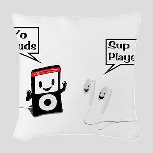 Sup Player Woven Throw Pillow