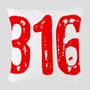 316 Woven Throw Pillow