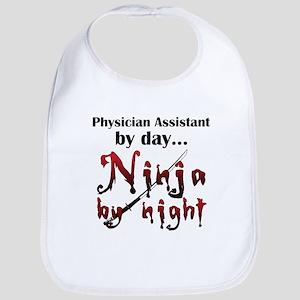 Physician Assistant Ninja Bib