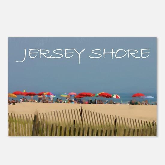 Cute Beach Postcards (Package of 8)