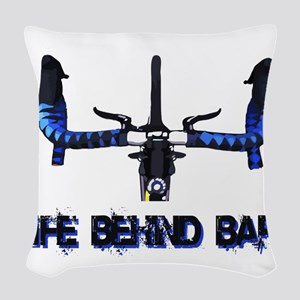 Life Behind Bars Woven Throw Pillow