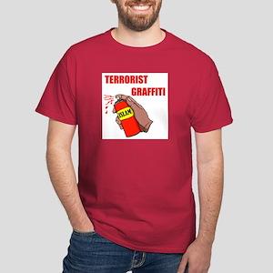 TERRORIST GRAFITTI Dark T-Shirt