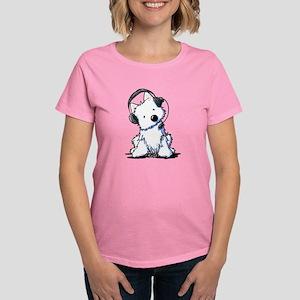 Call Center Westie Women's Dark T-Shirt