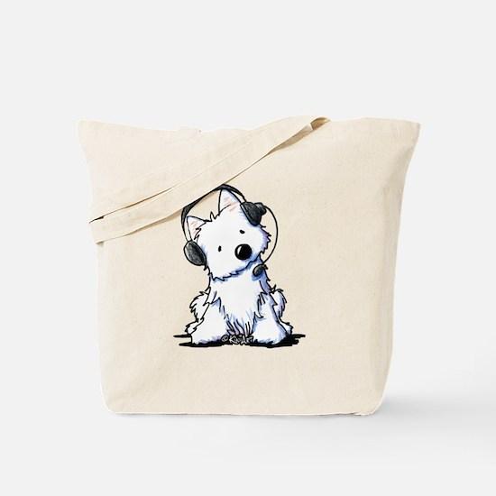 Call Center Westie Tote Bag