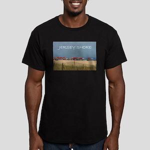 Jersey Shore Beach Umbrellas T-Shirt