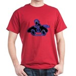Kokopelli Race Car Driver Dark T-Shirt