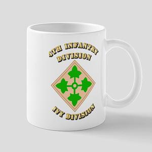Army - Division - 4th Infantry Mug