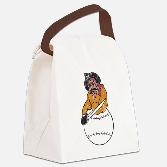 Throwback Pirates Canvas Lunch Bag