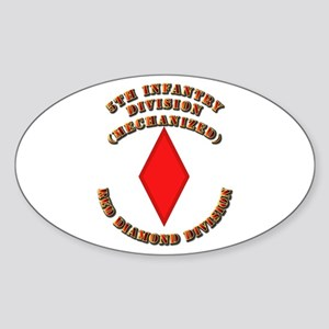Army - Division - 5th Infantry Sticker (Oval)