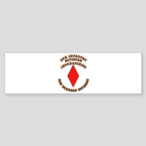 Army - Division - 5th Infantry Sticker (Bumper)