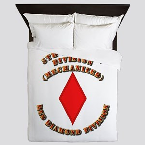 Army - Division - 5th Infantry Queen Duvet