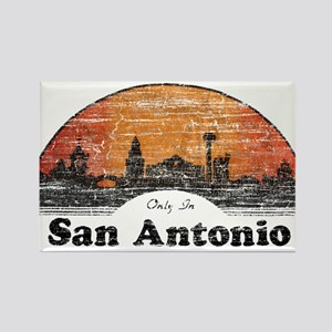 Vintage San Antonio Rectangle Magnet
