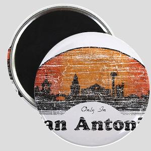 Vintage San Antonio Magnet