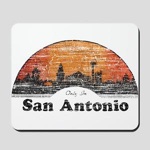 Vintage San Antonio Mousepad