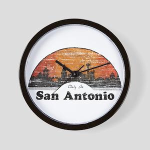 Vintage San Antonio Wall Clock