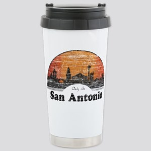 Vintage San Antonio Travel Mug