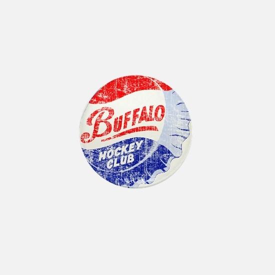 Vintage Buffalo Hockey Mini Button