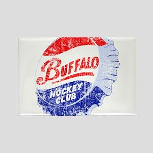 Vintage Buffalo Hockey Rectangle Magnet