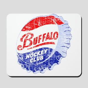 Vintage Buffalo Hockey Mousepad