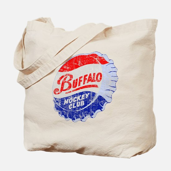 Vintage Buffalo Hockey Tote Bag