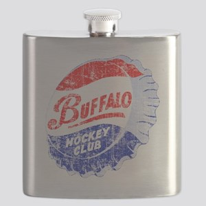 Vintage Buffalo Hockey Flask